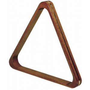 Triangle pole 57.2mm wood / brass deluxe