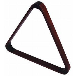 Wooden triangle mahogany coloured