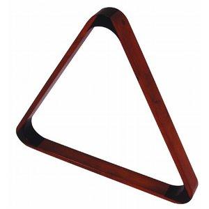 Triangel pool 57.2mm donker esdoorn deluxe