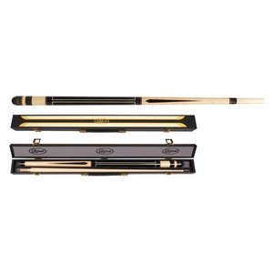 Carom set Laperti cue & case no. 1