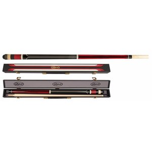 Carom set Laperti cue & case no. 4