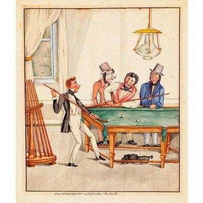 Poster Vintage - L'Artiste
