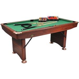 Pool table Buffalo Challenger 6 ft brown foldable