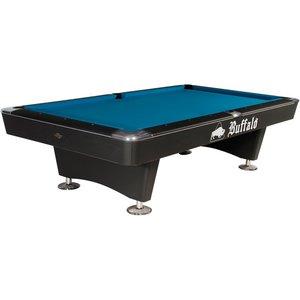 Buffalo Dominator pool table 8 and 9 ft black
