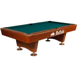 Pool table Buffalo Dominator 8 and 9 ft brown