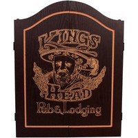 INNERGAMES Dart kabinet Kings Head Black&Gold