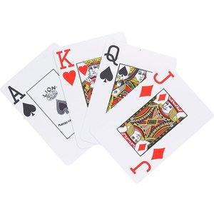 Speelkaarten LION 100% plastic, Poker