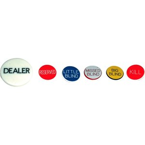 Dealer Button Set