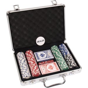 POKERSET ALU CASE 200 DICE RND