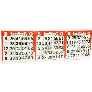 Bingo Cards 1500 sheets