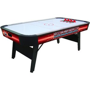 "Buffalo air hockey table ""Terminator II"" folding legs 7ft"