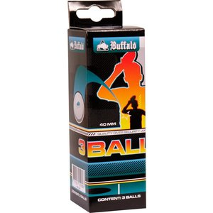 Table tennis balls Buffalo 1 * set of 3 pieces