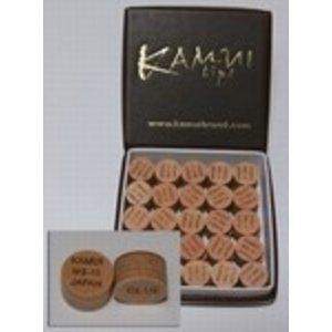 Cue tip Kamui layered tip Original with cap replaced