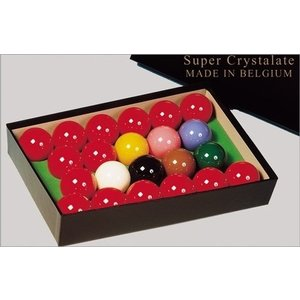Snookerballen Super Crystalite ballen  52,4 mm