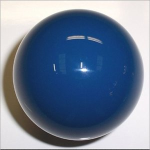 Blue carom ball size 61.5 mm