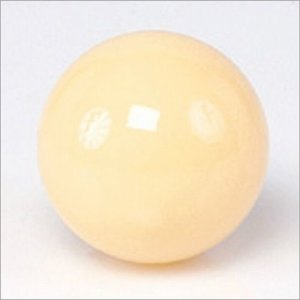 White ball Aramith standard size 57,2 mm