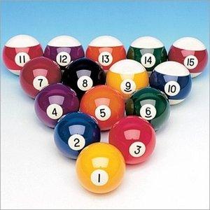 Loose pool ball 1st quality Aramith. Size 57.2mm.