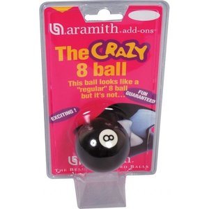 "Aramith 8-ball ""crazy 8"""