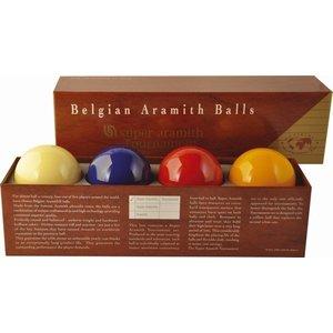 Super Aramith Tournament. With extra blue ball
