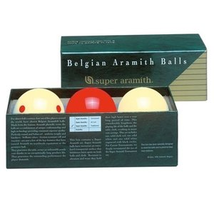 Carom balls Super Aramith training set.