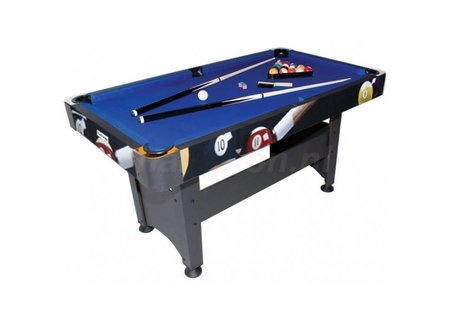 Hobby pool billiards (wooden playing field)