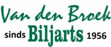 Van den Broek billiards - Cues, billiards, pool and darts logo