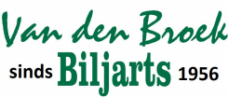 Van den Broek billiards - Cues, billiards, pool and darts logo