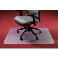Bureaustoelmat voor zachte vloer Polycarbonaat