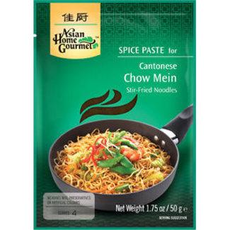 Asian Home Gourmet Cantonese Chow Mein 50g Asian Home Gourmet