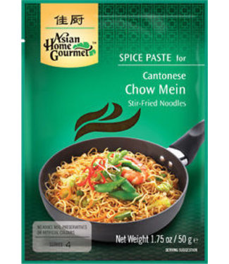 Asian Home Gourmet Spice Paste for Cantonese Chow Mein 50g
