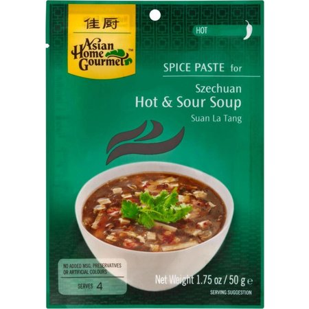 Asian Home Gourmet Spice Paste for Hot & Sour soup 50g