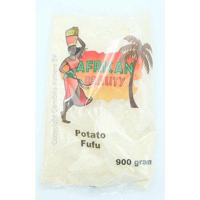 African Beauty Potato Fufu 900 gram