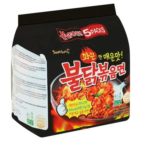 Samyang Hot Chicken flavor ramen 5-pack