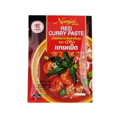 Namjai Red curry paste 50g