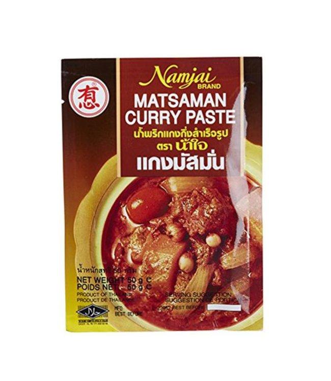Namjai Matsaman Curry Paste 50g