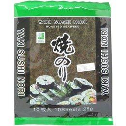 Yaki Sushi Nori Zeewier 10 sheets