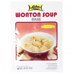Lobo Wonton Soup Base 40g