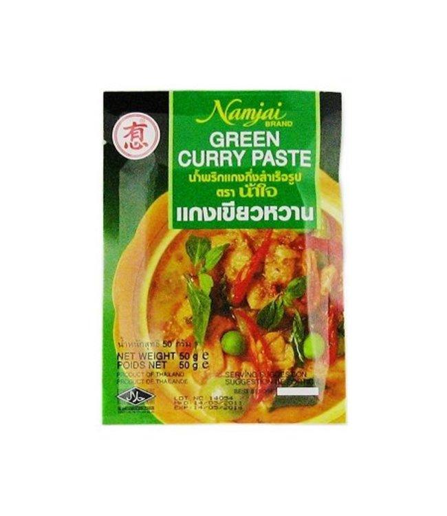 Namjai Green Curry Paste 50g