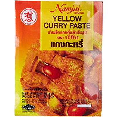 Namjai Yellow Curry Paste 50g