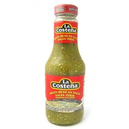 La Costena Green Mexican Salsa Medium 475g