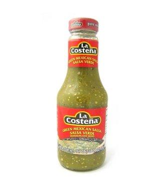La Costena Green Mexican Salsa Medium 475g