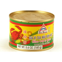 Por Kwan Mine crab in spices 160g