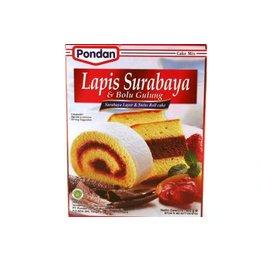 Pondan Lapis Surabaya & Bolu gulung cakepoeder 400g