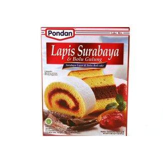 Pondan Surabaya Layer & Swiss roll cake 400 gram