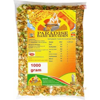 Paradise Bami kruiden 800 gram