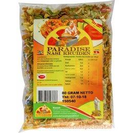 Paradise Nasi kruiden 80 gram