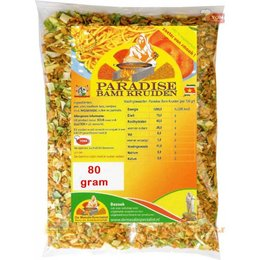 Paradise Bami kruiden 80 gram