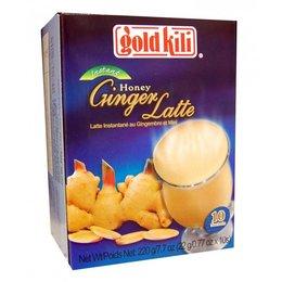 Honing Gember Latte - Gold Kili 10 zakjes