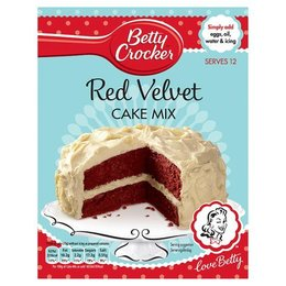 Betty Crocker Red Velvet Cake Mix, 450g