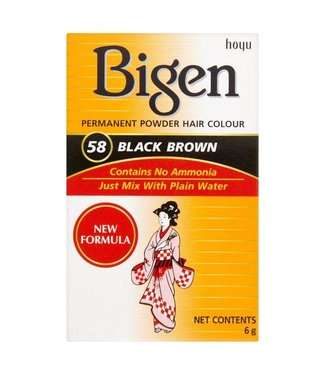 Bigen Haarverf 58 Black Brown